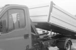 Aluminiowa zabudowa samochodu wywrotka z hds
