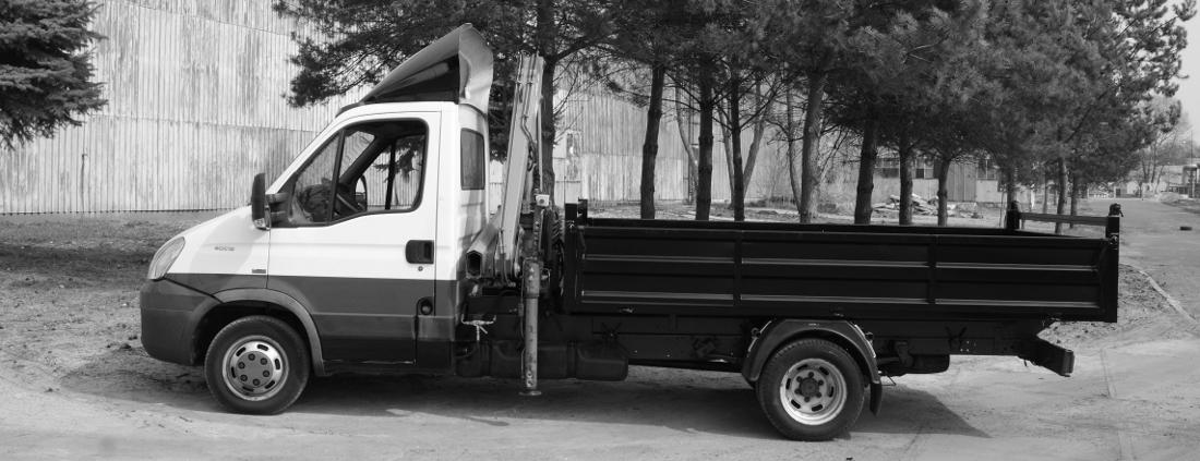 Zabudowa samochodowa wywrotka z HDS do 3,5 tony